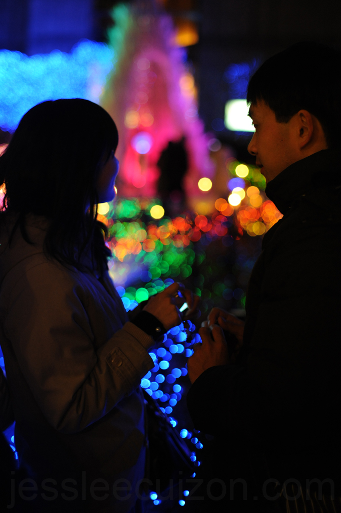 Christmas Illumination in Japan | Photography by Jesslee Cuizon